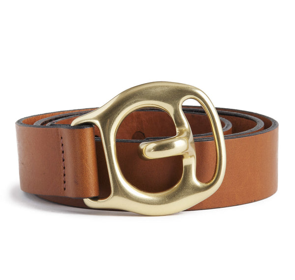 Sir Jack's Trace Carrier Belt in Tan Leather