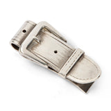 Sterling Belt Buckle Money Clip