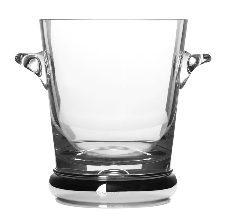 Sterling Silver & Glass Ice Bucket