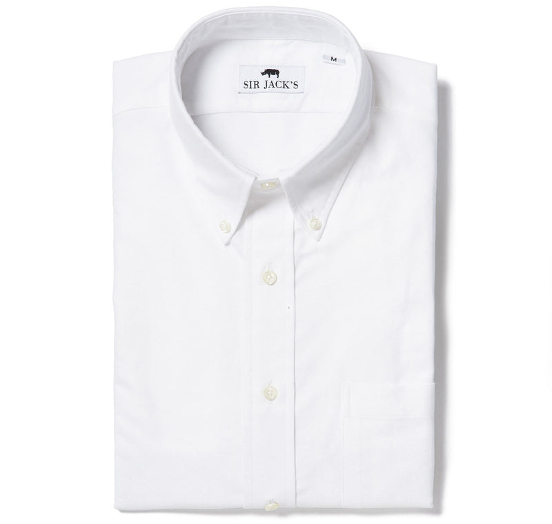 Sir Jack's Sudbury Oxford Shirt in White