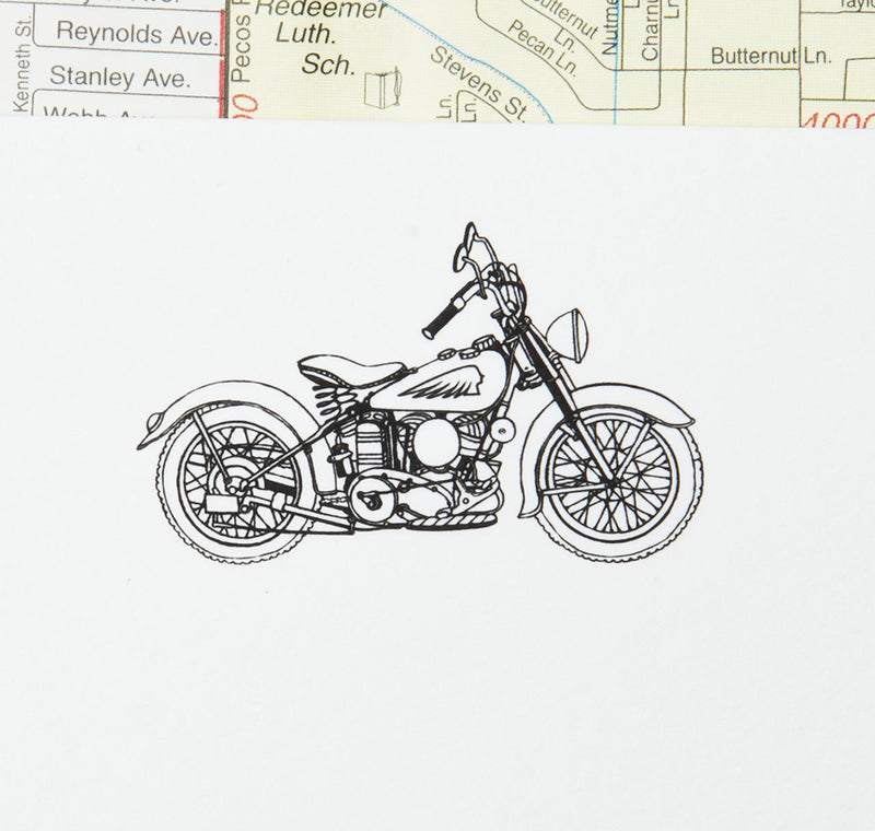 Terrapin Stationers Indian Motorcycle Stationery Set