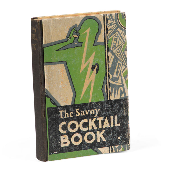 The Savoy Cocktail Book - First Edition - by Harry Craddock