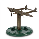 WWII 'Trench Art' Airplane Ashtray