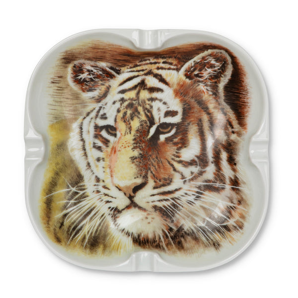 Vintage Abercrombie & Fitch Tiger Ashtray
