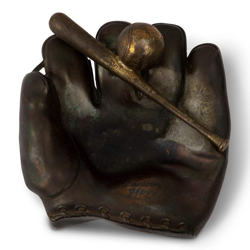 Vintage Baseball Glove Cigar Ashtray