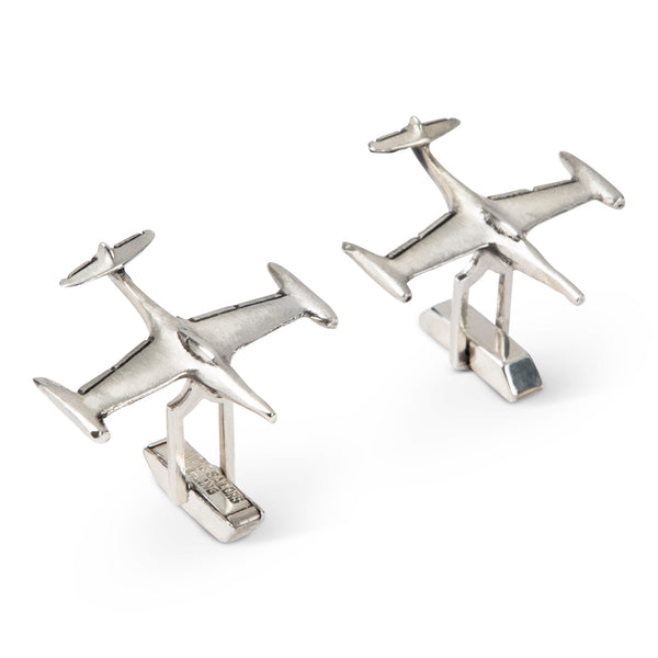 Vintage Fenwick & Sailors Sterling Airplane Cufflinks