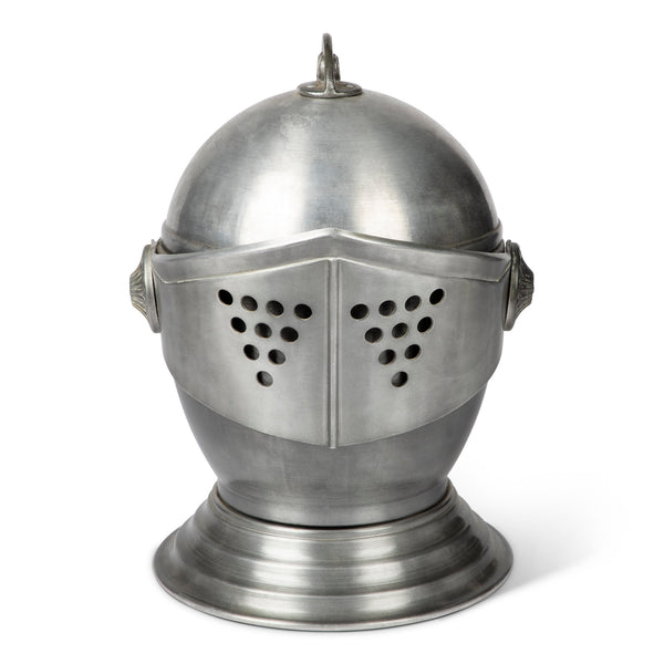 Vintage Knight's Helmet Ice Bucket