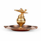 Vintage Large Speedboat Cigar Ashtray Trophy