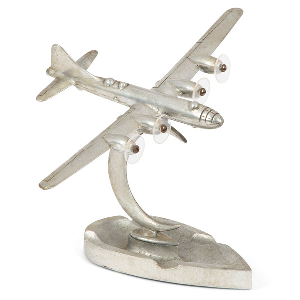 Vintage Propeller Airplane Ashtray