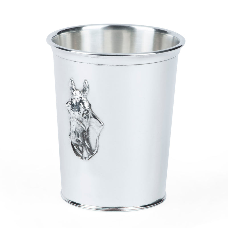 Webster Sterling Silver Horse Head Mint Julep Cup