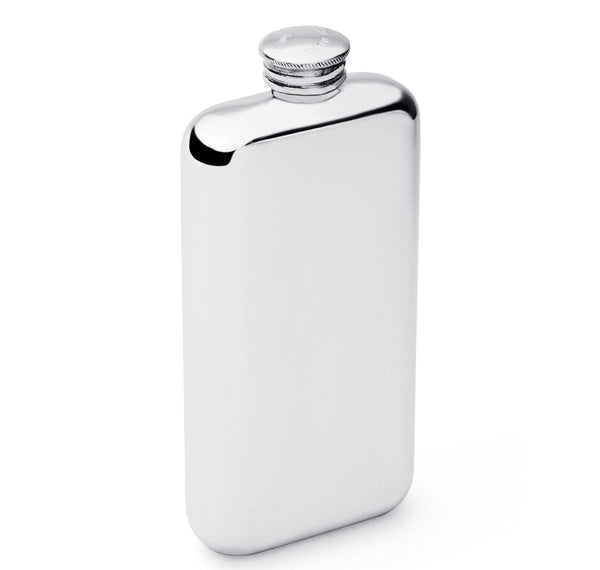 Sir Jack's 3oz Pewter Screw Top Flask