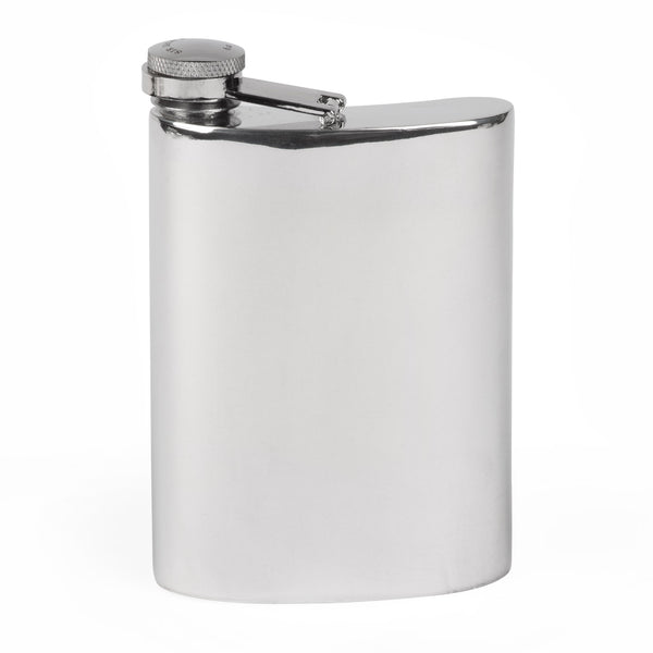 Sir Jack's 6oz Pewter Trench Flask