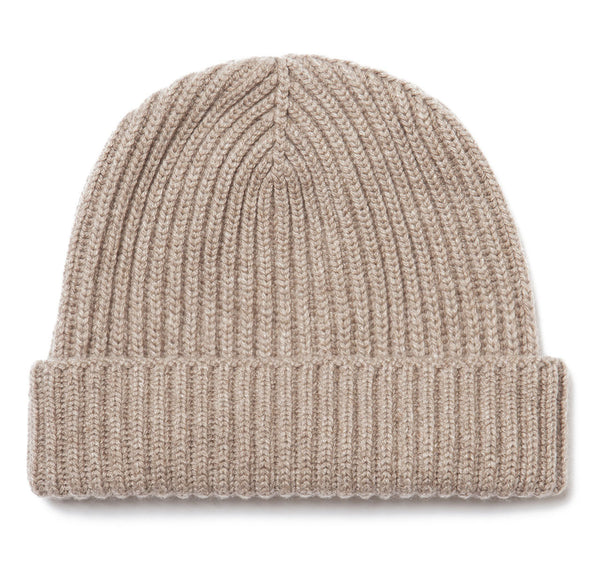 Cashmere Oatmeal Watch Cap