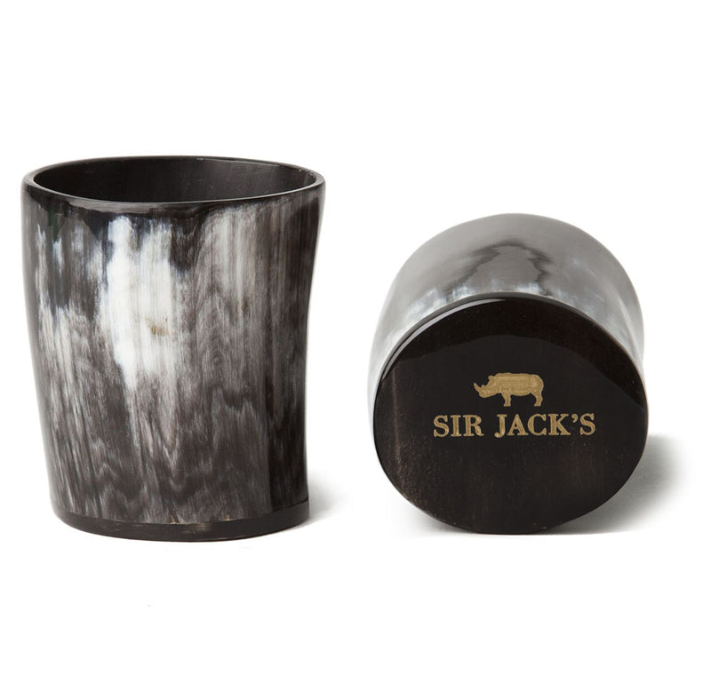 Sir Jack's Ox Horn Whiskey Tumblers