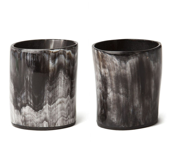 Sir Jack's Ox Horn Whiskey Tumblers Front