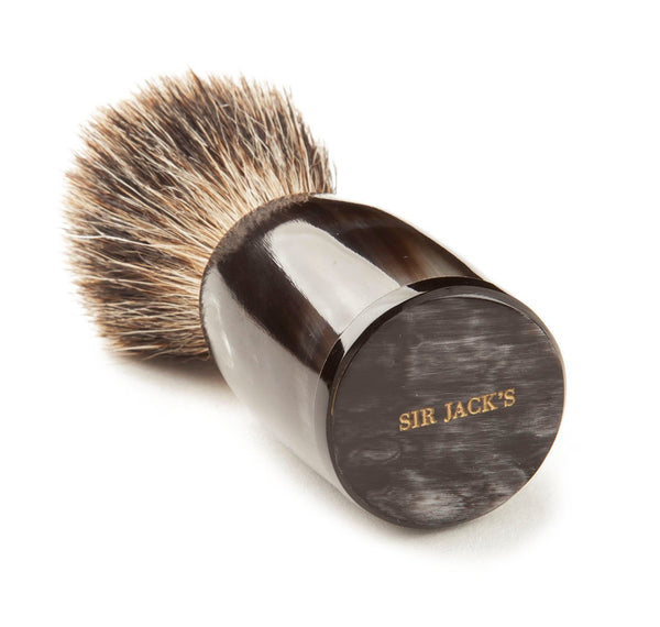 Sir Jack's Ox Horn Super Badger Shaving Brush