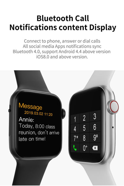 iPhone Android Bluetooth Smart Watch - iMacks Store