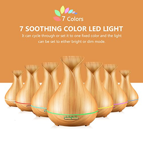 Ultrasonic Wooden 400ml Diffuser