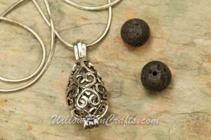 Teardrop Diffuser Locket