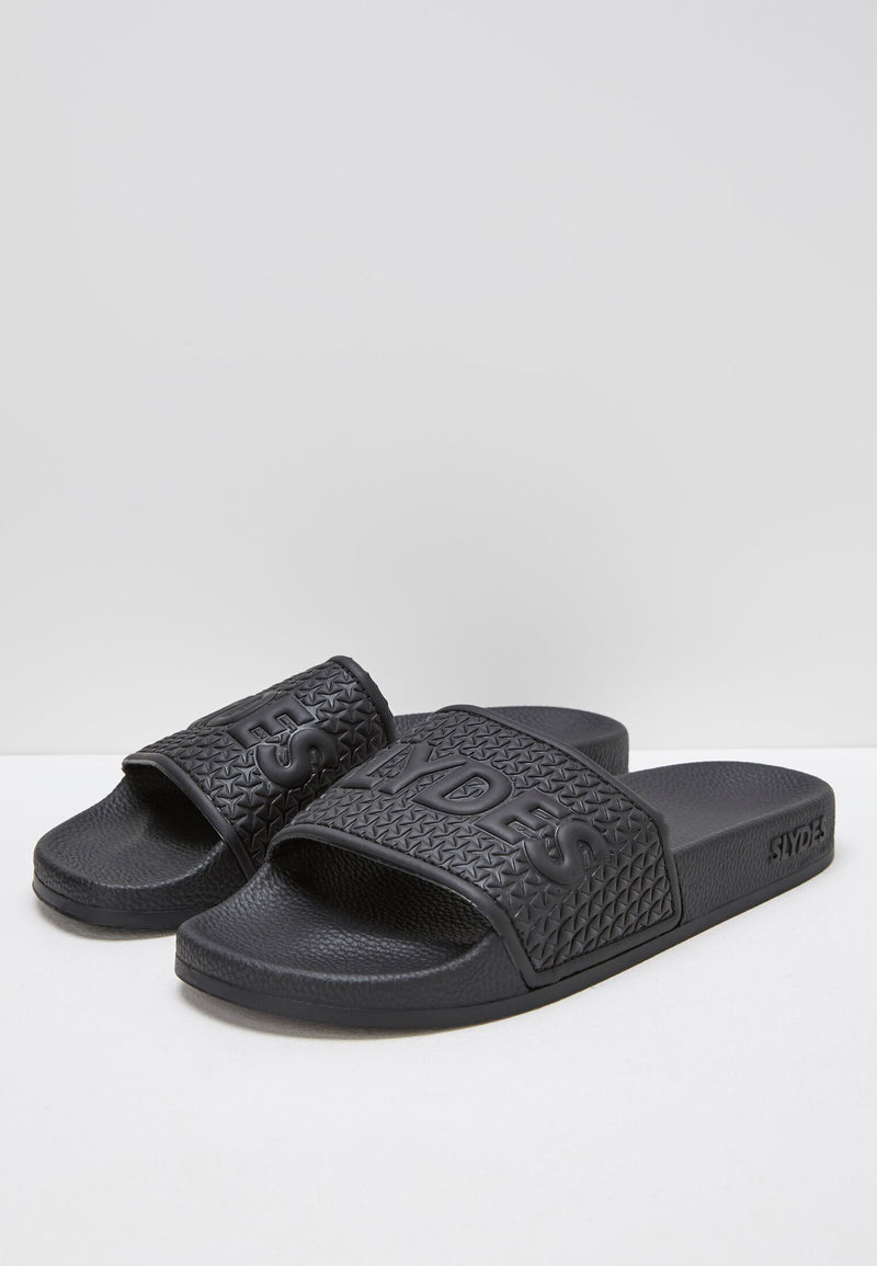 Cali Men's Black Sliders