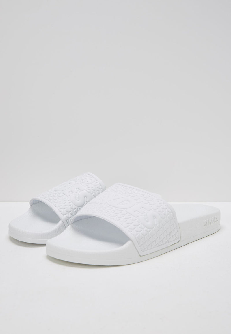 Cali Men's White Sliders