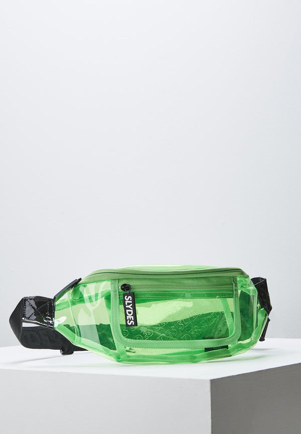 Crystal Neon Green Fanny Pack