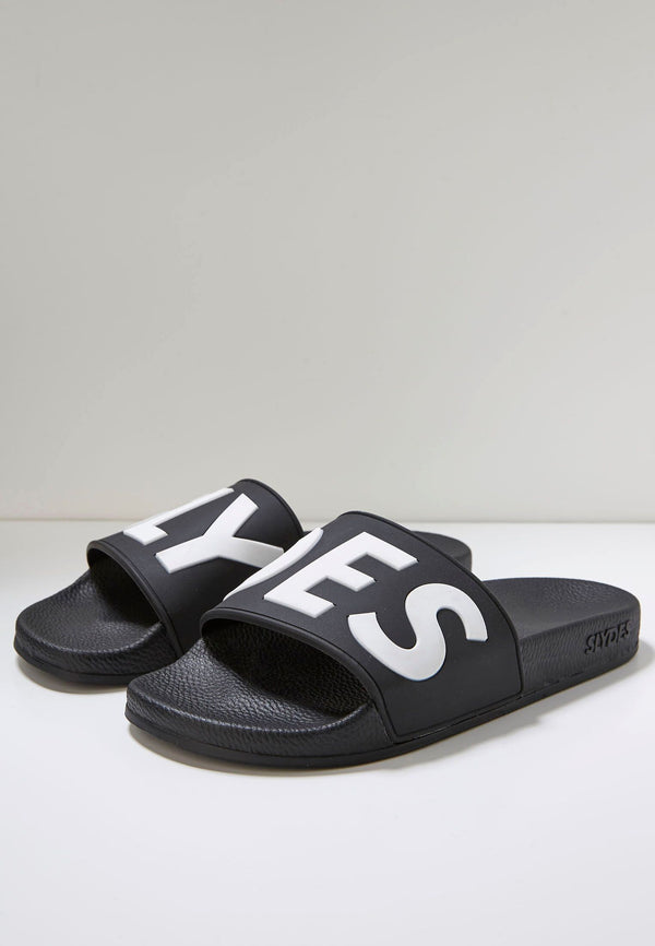 Deflect Women's Black Sliders