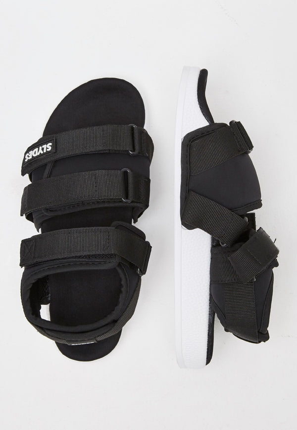 Runner Men's Black/White Sandals