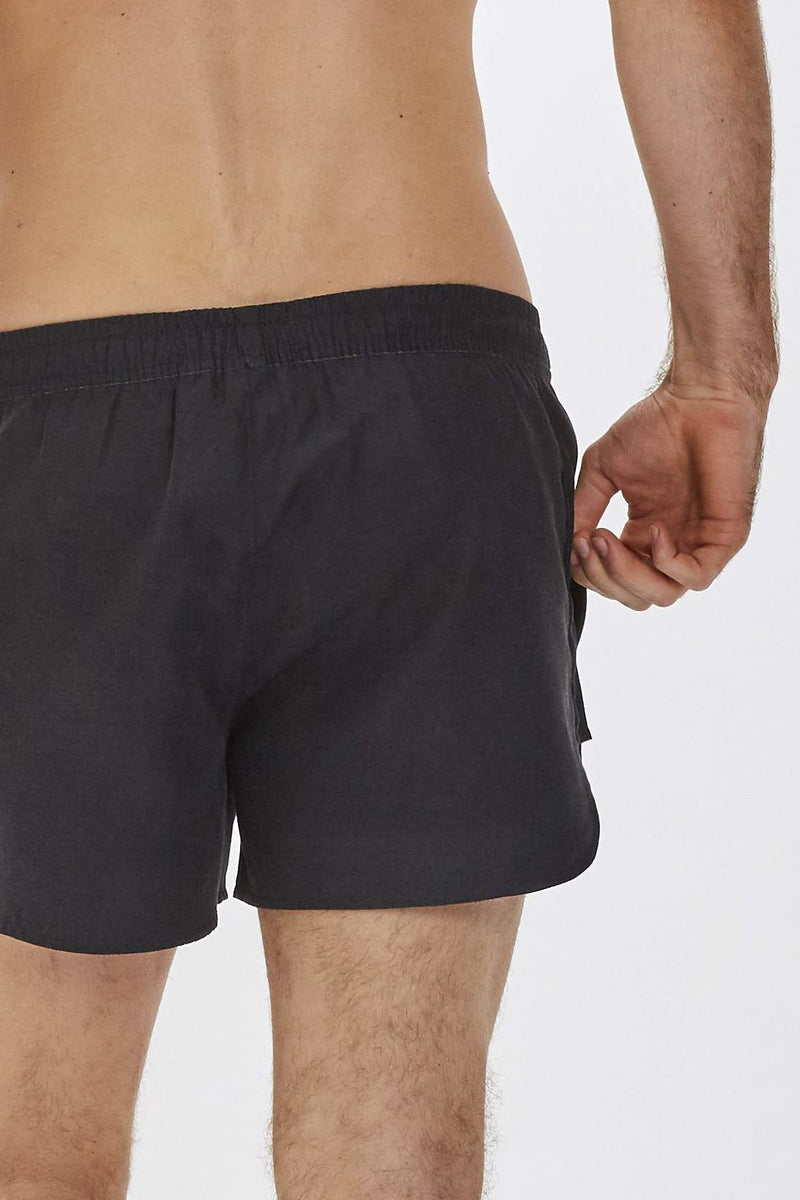 Mandalay Mens Black Swim Shorts
