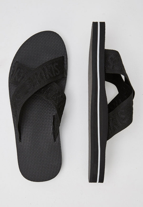 Warp Men's Black Sliders