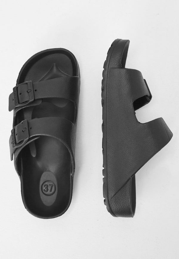 Watson Women's Black Sliders