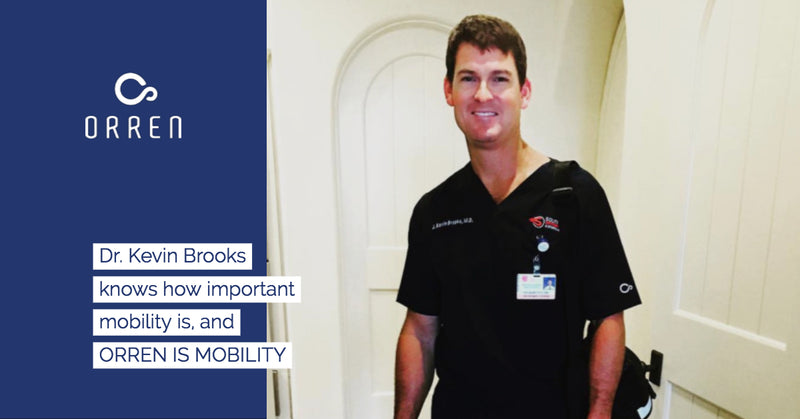 Dr. Kevin Brooks, an Orthopedic surgeon in Brunswick, GA knows how important mobility is in and outside of the operating room