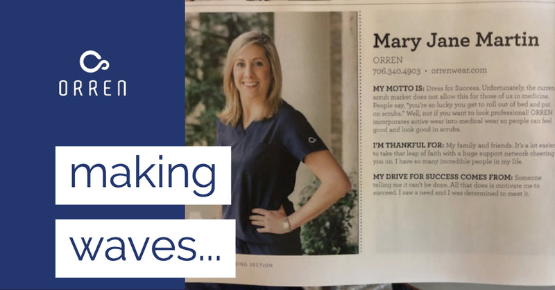 ORREN founder Mary Jane Martin featured in the Savannah Magazine
