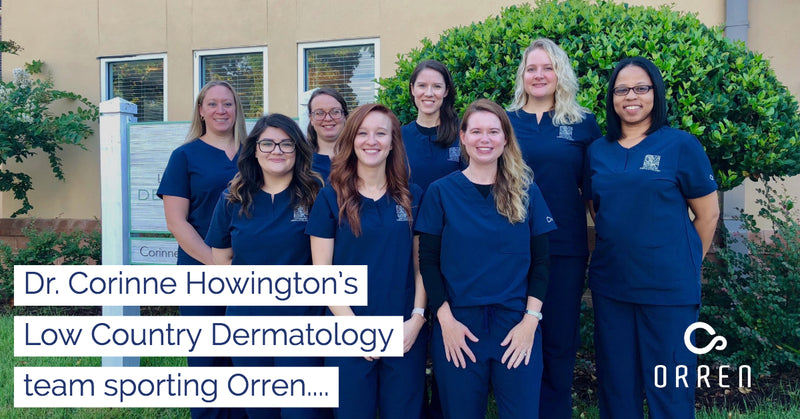 The staff at Dr. Corinne Howington's Low Country Dermatology has joined the ORREN club!