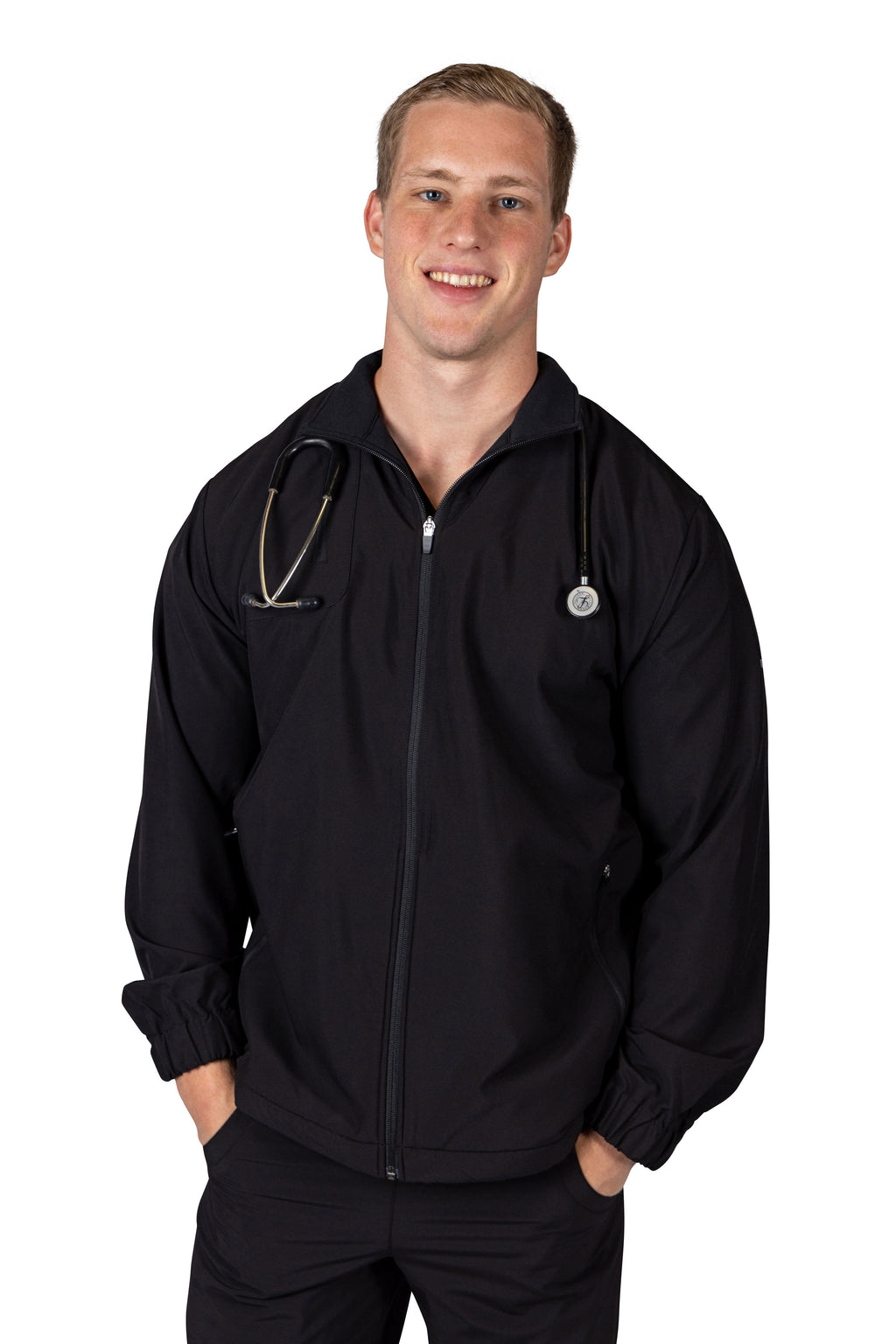 Sapelo Scrub Jacket for Men