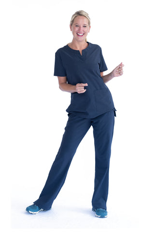 Amelia Athletic Scrub Top