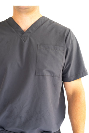 Tybee Temperature-regulating Men Classic Scrub Top
