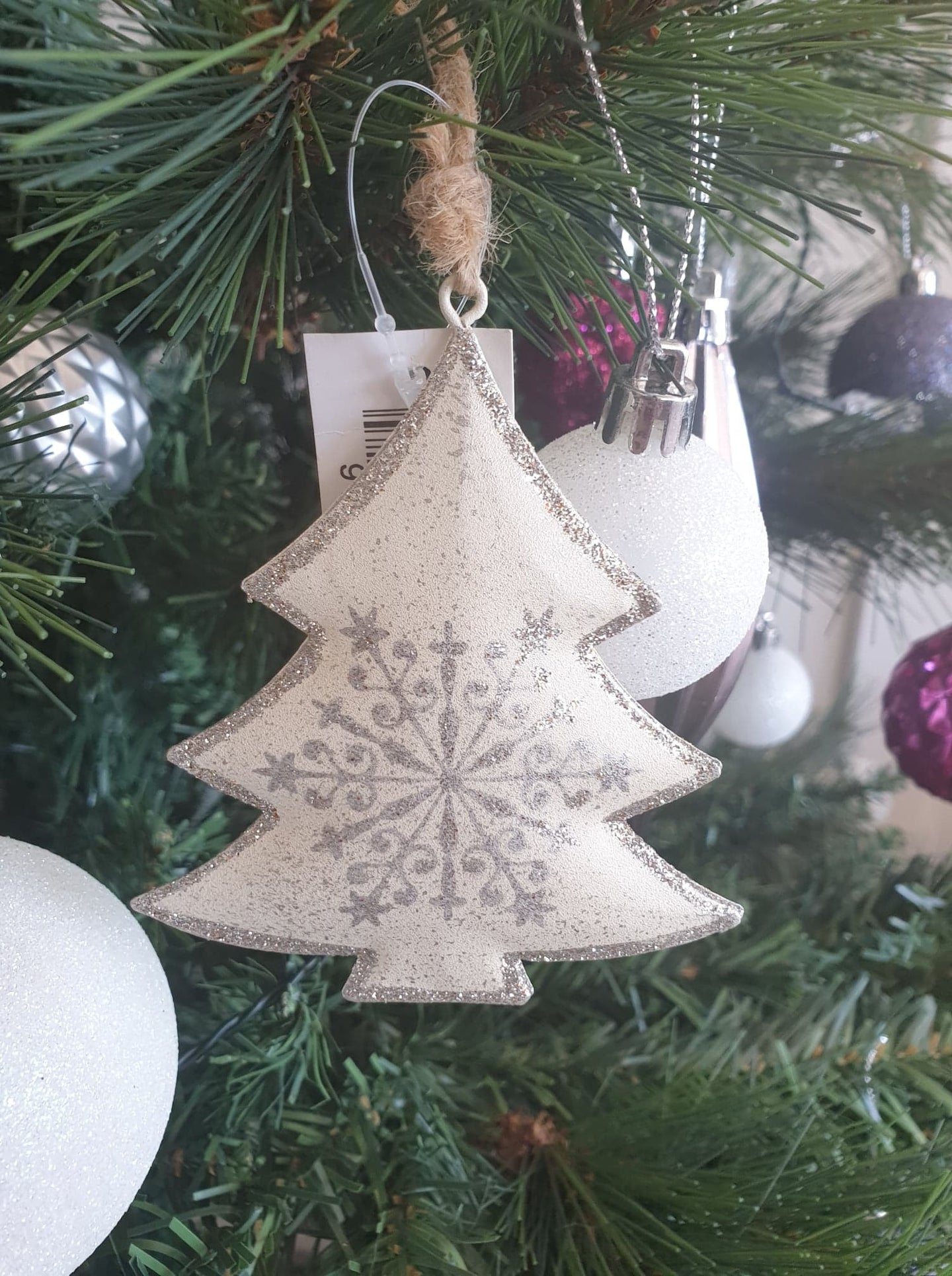 DOUBLE SIDED CHRISTMAS ORNAMENT - CHRISTMAS DECORATION
