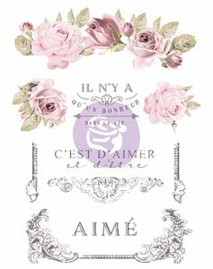 DANS LA VIE **** RE-DESIGN WITH PRIMA TRANSFER