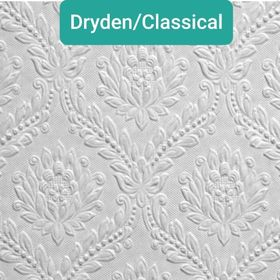 DRYDEN / CLASSICAL - PAINTABLE WALLPAPER