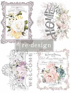FLORAL HOME **** RE-DESIGN WITH PRIMA TRANSFER