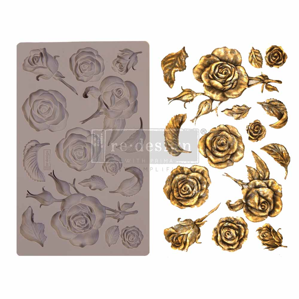 FRAGRANT ROSES *** REDESIGN WITH PRIMA MOULD