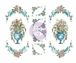 DRESS UPS INDIGO  *** IOD DECOR TRANSFER