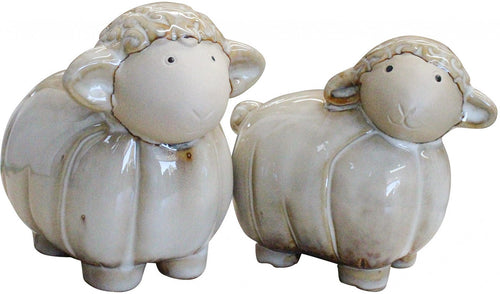 SHEEP CERAMIC NATURAL *** HOMEWARES