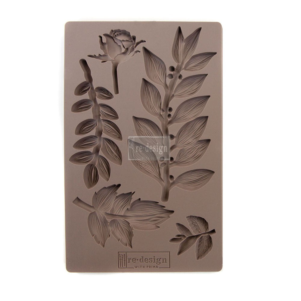 LEAFY BLOSSOMS *** REDESIGN WITH PRIMA MOULDS