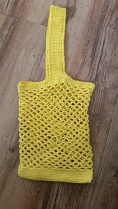 Handmade Crocheted Tote Bag