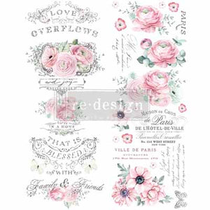 OVERFLOWING LOVE **** RE-DESIGN WITH PRIMA TRANSFER