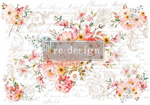 ROSE CELEBRATION *** RE-DESIGN WITH PRIMA TRANSFER