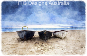 ROW BOAT TRIO - FIG DESIGN AUSTRALIA