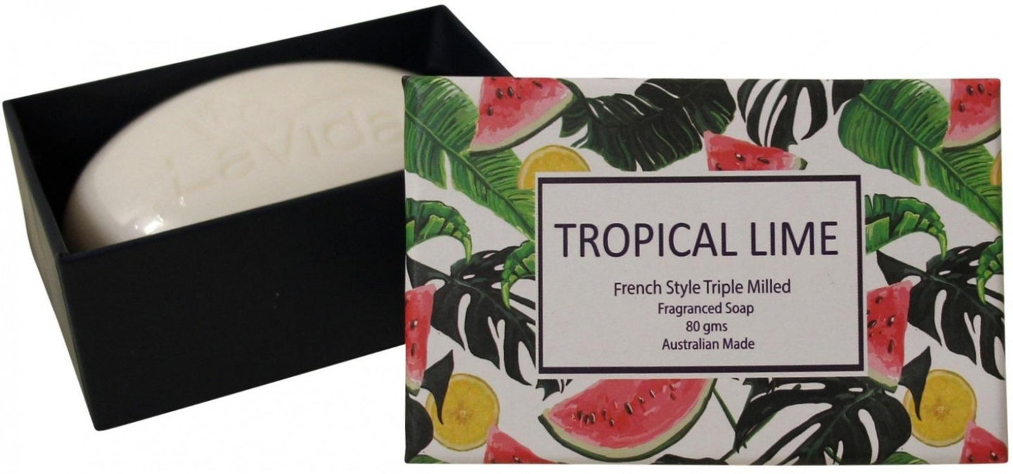 SOAP TROPICAL LIME
